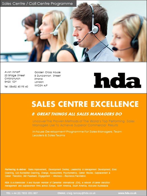 Call Centre Brochure