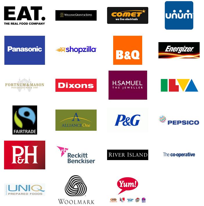retail logos