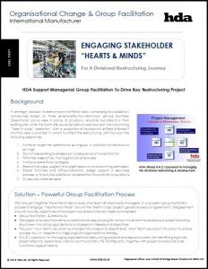 Organisational Change: Manufacturing Sector