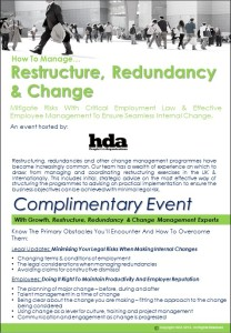Change Event London April 29th brochure pic